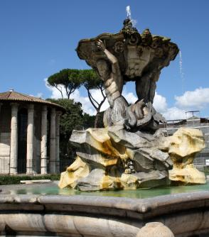 Fontana Piazza Bocca della Veritas